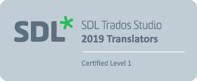 SDL Trados 2019 Certification